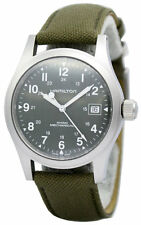 Hamilton Khaki Field Officer Handwinding Canvass Men's Watch H69419363 New orig
