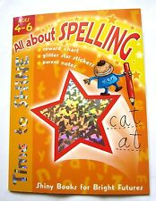 Spelling Activity Book Age 4 5 6 Year 1 English Literacy Homework Home Learning