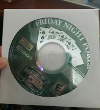 Friday Night Poker (disc only)  -  PC GAME - FREE POST
