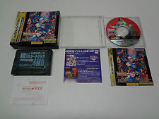 Marvel Vs Street Fighter Ram Pack with Registration Card Sega Saturn Japan