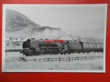 POSTCARD LMS LOCO NO 46240 CITY OF COVENTRY AT PENMAENMAWR 1964