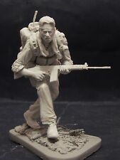 Modelos de AC Selous Scout 120mm 1/16th Sin Pintar Resina Figura Kit