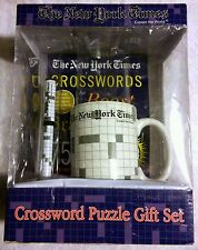 VERY RARE - THE NEW YORK TIMES CROSSWORD PUZZLE GIFT SET BY EXCALIBUR 2004