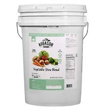 Augason Farms Emergency Food 6-Gallon Freeze Dried Vegetable Variety Pail 4 lbs
