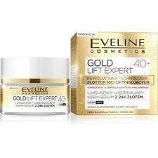 EVELINE COSMETICS GOLD LIFT EXPERT 40+ FACE FIRMING CREAM SERUM WITH 24K GOLD