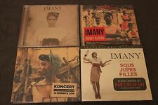 Imany - There Were Tears CD + The Wrong Kind of War CD + 2 CD's  POLISH LOT