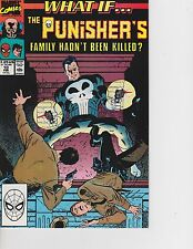 What If? #10 Punisher's family hadn't been killed FREE SHIPPING AVAILABLE!
