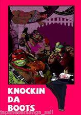 Teenage Mutant Ninja Turtles doujinshi KNOCKIN DA BOOTS (B5 52pages) TMNT