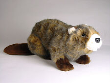 Beaver by Piutre, Hand Made in Italy, Plush Stuffed Animal NWT