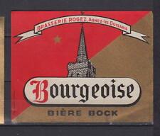 A220  Ancienne étiquette Bière Alcool Brasserie Rogez  Agnez lez Duisans