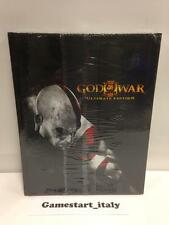GOD OF WAR III 3 ULTIMATE EDITION GUIDA STRATEGICA NUOVO SIGILLATO ITALIANA