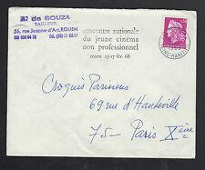 """ROUEN (76) TAILLEUR / CONFECTION MODE """"A. DE SOUZA"""" Voyagée en 1968"""