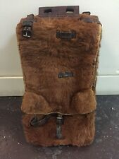WWII SWISS Army Pony Hair Tornister BackPack Military Vtg Rucksack 1941 German
