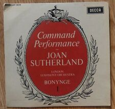 Joan Sutherland - Command Performance No. 1 - Decca CEP 5516 (Mono 1963)