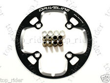 Driveline Chain Guard / Chainring Guard 44T, BCD 104mm, 75g, Black
