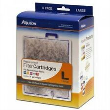 Aqueon 06088 Filter Cartridge, Large, 6-Pack, New, Free Shipping