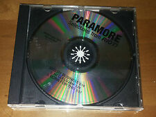 Paramore - SELECTIONS FROM RIOT! promo CD / brand new eyes lp vinyl lp