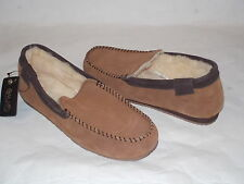 Women's EMU Huntley 100% Australian Sheepskin SLIPPERS , Chestnut, Sz 9 M, NEW