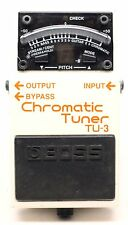 used Boss TU-3 Chromatic Tuner pedal, Excellent condition