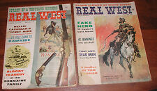 2 REAL WEST MAGAZINE CHARLTON NOVEMBER SEPTEMBER 1962 FREDERIC EMINGTON