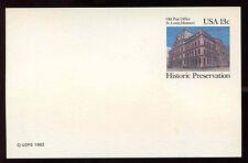 USA 1982 VECCHIO Ufficio Postale St. Louis, Missouri, Stationery card inutilizzati #C 12141
