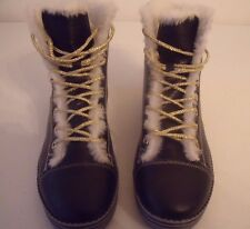 Anelle High Top Fashion Sneakers Fur Lined Boot Size 39 Beautiful !!