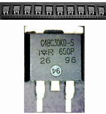 10 UNITS - G4BC30KD-S   IR Copack IGBT in a D2-Pak package