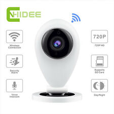 Security Indoor Home Camera WIFI Wireless IP 720P HD P2P SD card Surveillance