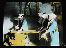 GLASS MAGIC LANTERN SLIDE THE RICE IN JAPAN NO10 C1920 JAPAN JAPANESE FUTABA