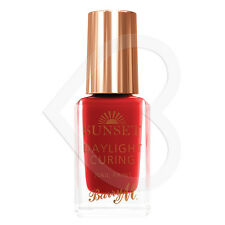 Barry M Sunset Daylight Curing Nail Paint - Can't Get You Out of My Red SSNP1