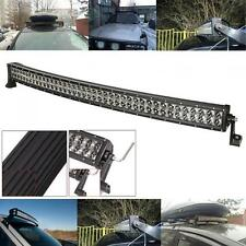 42Inch 400W Curved Work Light Combo Beam Bar 80LED Trucks  4WD Lamp Bulb 12V 24V