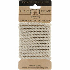 Natural Hemp Rope 6mm Thick - Natural and Eco-Friendly for Packaging and Crafts