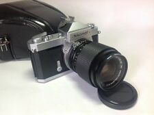 Nikon Nikkormat FT SLR Camera with Vivitar Fast 35-70mm f2.8-3.5 Zoom Lens