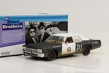 1974 Dodge Monaco Blues Brothers Bluesmobile Movie 1:24 Greenlight