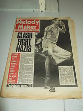 MELODY MAKER 1978 APRIL 15 GENESIS THE CLASH THE TUBES
