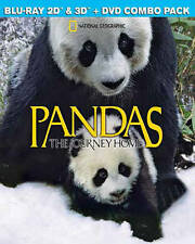 Pandas: The Journey Home (Blu-ray/DVD, 2015, 3D/2D)