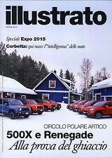 Illustrato Fiat Alfa Romeo Lancia FCA 04 / 2015 magazine no catalogo brochure