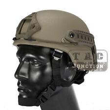 Emerson Tactical ACH MICH 2000 TC-2000 Helmet Advanced w/ NVG Shroud + Side Rail