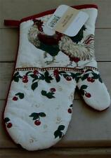 "BRAND NEW 13"" The Home Store Oven Mitt, Great Pattern, VERY COUNTRY BRAND NEW"