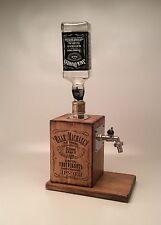 HAND MADE WHISKEY, LIQUOR WOODEN ALCOHOL DISPENSER