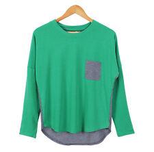 Korean Fashion Women Lady Shirt Long Sleeve T-shirt Girls Blouse Tops Shirt