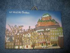 Quebec, Canada, La Ville de Quebec Souvenir Ceramic Collectible Plate