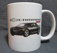 2014 Chevrolet Camaro SS Coffee Cup, Mug - Black - Sharp! - NEW