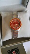 Swiss Army Victorinox Lancer 100 Med Red RARE BRAND NEW