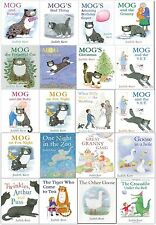 Judith Kerr Mog the Forgetful Cat Collection 20 Books Set Mog Christmas ...