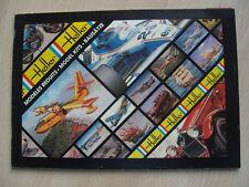 Heller modelo catálogo aprox. 1980 barcos auto aviones militares rar Alpine Mini