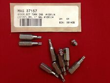 """10 Bosch 37157 TORX BIT MAGNA 1"""" Length, #10x1/4 Insert T10 Hard *Factory New*"""