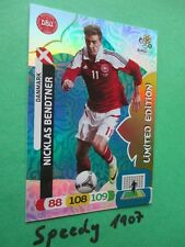 Euro 2012 Bendtner limitierte Auflage limited edition Panini Adrenalyn 12