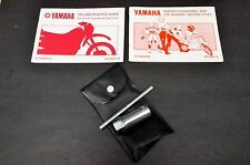 Yamaha PW80 Tool Kit + 1989 & 1991 Motorcycle Riding Tips Guide Manual Booklet