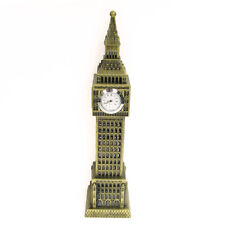 Vintage Model Statue of Big Ben London Miniature Statue Model with 1 clocks